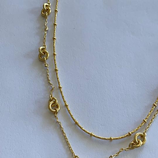 Madewell Madewell layered chain necklace Image 9