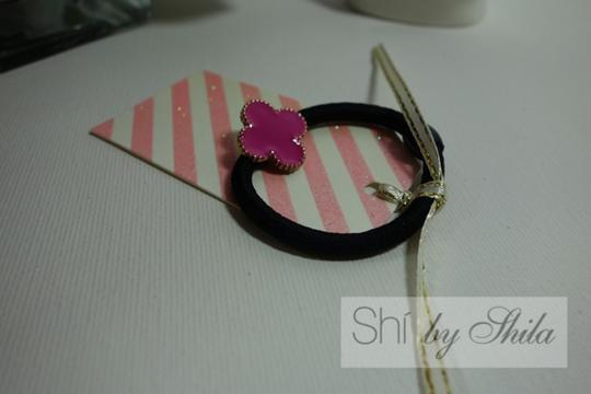 Shiekh Clover Leaf Elastic Hair Band Image 4