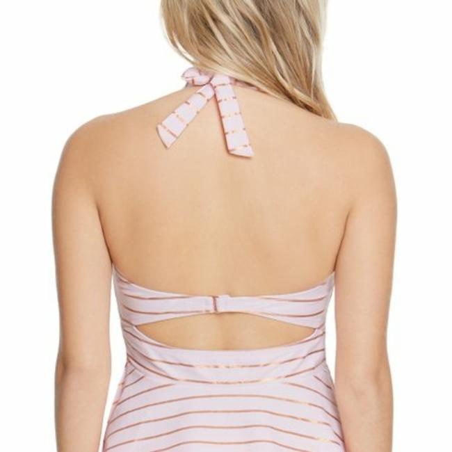 Betsey Johnson Shimmer Stripes Tankini RARE!!! Image 1