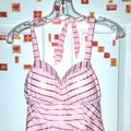 Betsey Johnson Shimmer Stripes Tankini RARE!!! Image 5