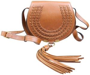 Chloé Whipstitch Small Marcie Saddle Shoulder Bag