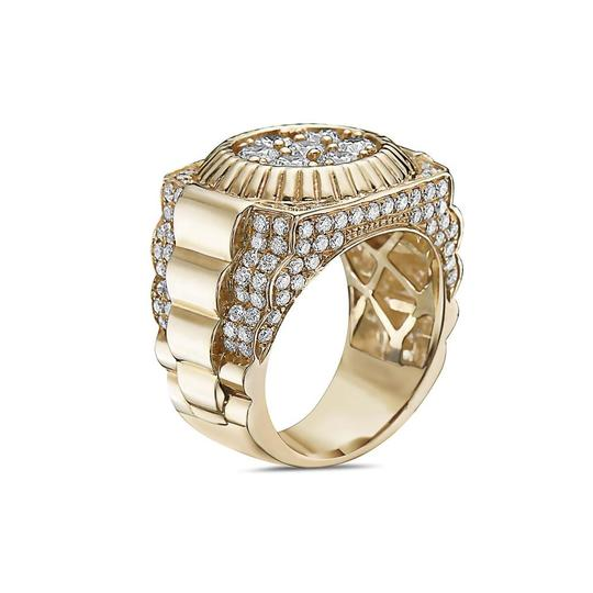 OMI Jewelry Men's 14K Yellow Gold Ring with 3.53 CT Diamonds Image 1