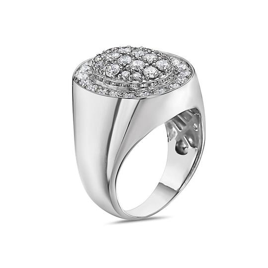 OMI Jewelry Men's 14K White Gold Ring with 2.17 CT Diamonds Image 1
