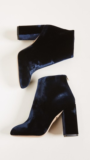 Charlotte Olympia Navy Boots