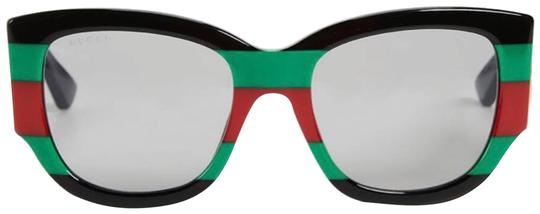 Preload https://img-static.tradesy.com/item/24277592/gucci-green-red-white-black-rectangular-gg0276s-005-sunglasses-0-4-540-540.jpg