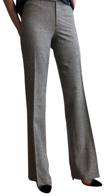 Item - Beige and Blue Classy Pants Size 6 (S, 28)