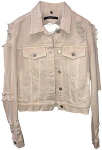 J Brand Blush Womens Jean Jacket