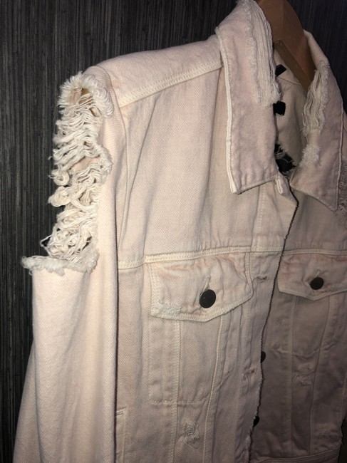 J Brand Blush Womens Jean Jacket Image 3