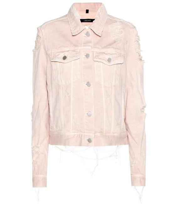 J Brand Blush Womens Jean Jacket Image 9