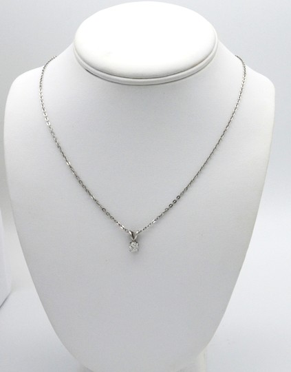 Sea Wave Diamonds Pendant on Chain Image 1