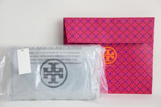 Tory Burch Convertible Perforated Logo Clutch Cross Body Bag Image 2