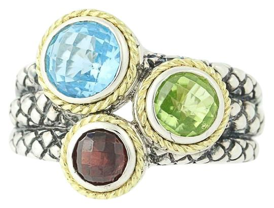 Preload https://img-static.tradesy.com/item/24277920/andrea-candela-sterling-silver-and-yellow-gold-new-multi-gemstone-pavo-real-n9672-ring-0-1-540-540.jpg