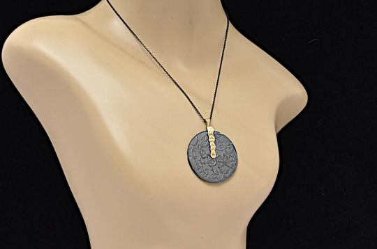 Page sargisson NY PAGE SARGISSON NY 'Charlotte' Oxidized Sterling Silver + Gold Necklace Image 3