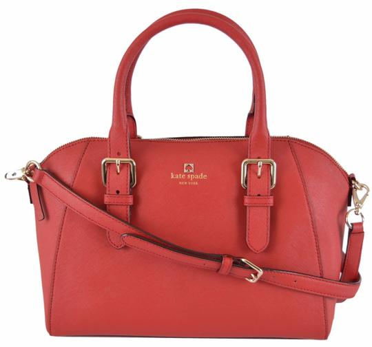 Preload https://img-static.tradesy.com/item/24278058/kate-spade-cove-street-pippa-saffiano-purse-red-leather-satchel-0-0-540-540.jpg