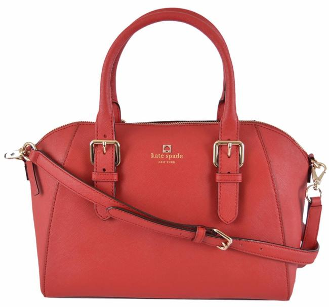 Item - Cove Street Pippa Saffiano Purse Red Leather Satchel