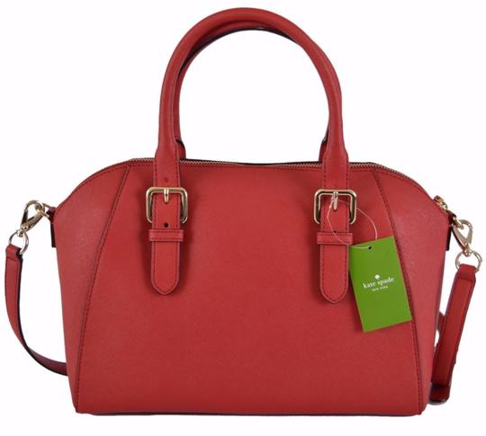 Kate Spade Purse Handbag Purse Satchel in Red Image 2