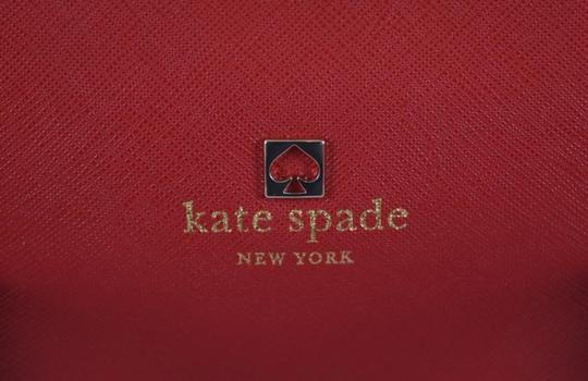Kate Spade Purse Handbag Purse Satchel in Red Image 6
