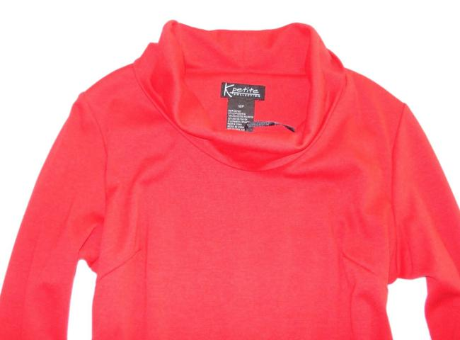 Nordstrom short dress Red Knit Cowl Neck 3/4 Sleeve on Tradesy Image 1