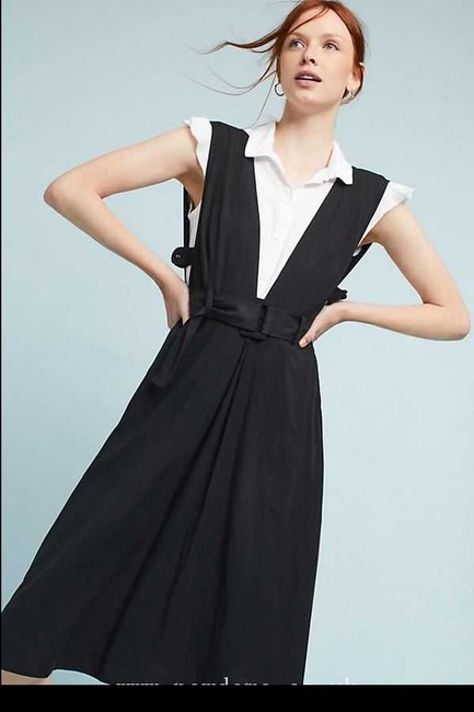 Black Maxi Dress by Anthropologie Image 1