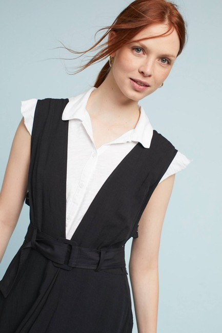 Black Maxi Dress by Anthropologie Image 3