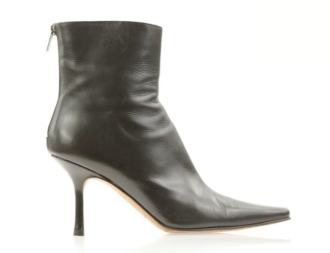 Item - Brown Pointed Toe Ankle Boots/Booties Size EU 39.5 (Approx. US 9.5) Regular (M, B)