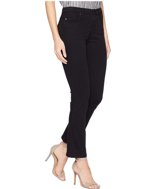 AG Adriano Goldschmied Flare Cropped Skinny Jeans-Dark Rinse Image 2
