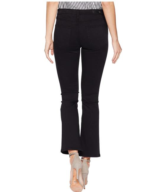 AG Adriano Goldschmied Flare Cropped Skinny Jeans-Dark Rinse Image 3