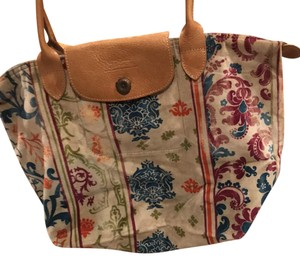 Longchamp Tote in various colors in pattern