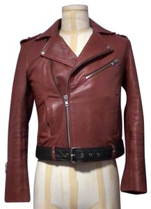 Maje brown Leather Jacket
