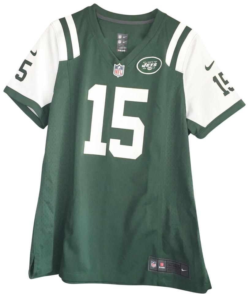 b37f5ef7 Nike Green New York Jets Tim Tebow Limited Jersey Activewear Top Size 12  (L) 70% off retail