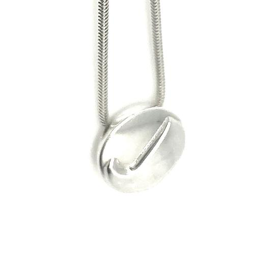Tiffany & Co. PRICE SLASHED! RARE 3D Initial J Sterling Silver Pendant Necklace Image 6