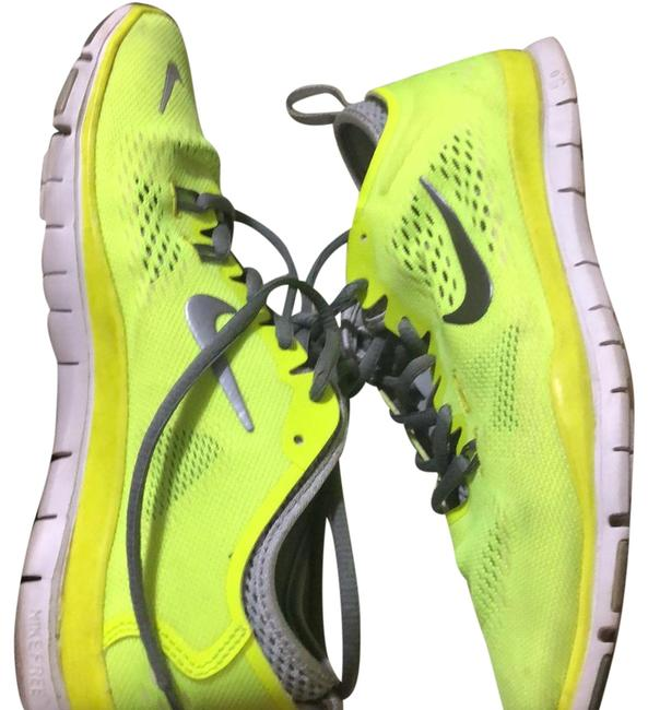 Item - Lime Green 5.0 Tr Fit 4 Sneakers Size US 7.5 Narrow (Aa, N)