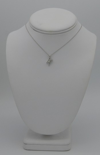 Sea Wave Diamonds Two Diamond and Pave Pendant Image 2