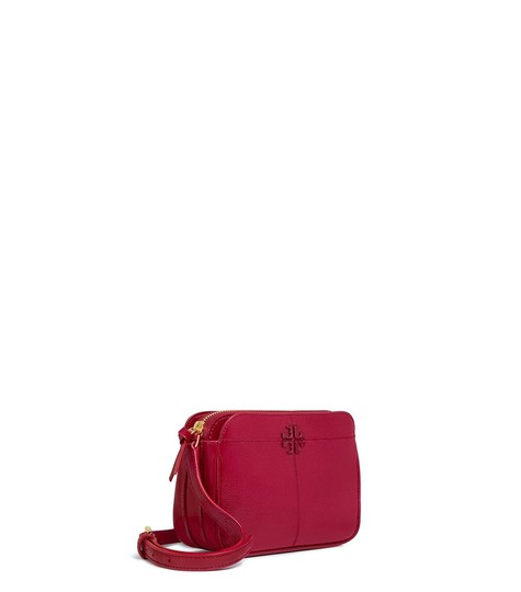 Tory Burch Ivy Micro Patent Leather Cross Body Bag Image 1