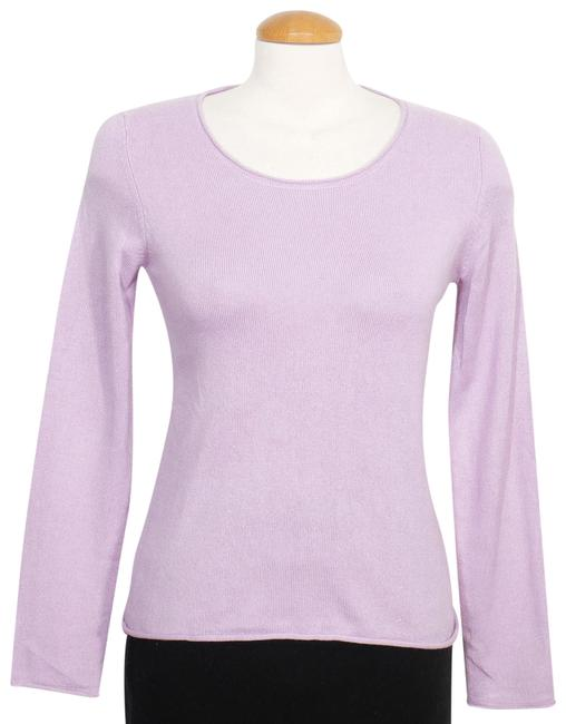 Preload https://img-static.tradesy.com/item/24278358/eileen-fisher-silk-cashmere-hydrangea-purple-sweater-0-3-650-650.jpg
