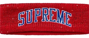 Supreme New logo sequin headband