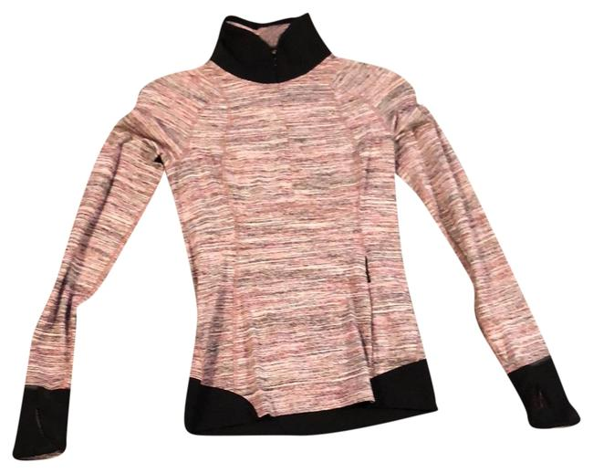 Item - Pink Pattern Pullover Activewear Outerwear Size 0 (XS)
