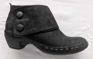 Merrell Leather Suede Black Boots