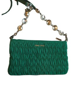 3d2d037b7ca3 Green Miu Miu Bags - Up to 90% off at Tradesy