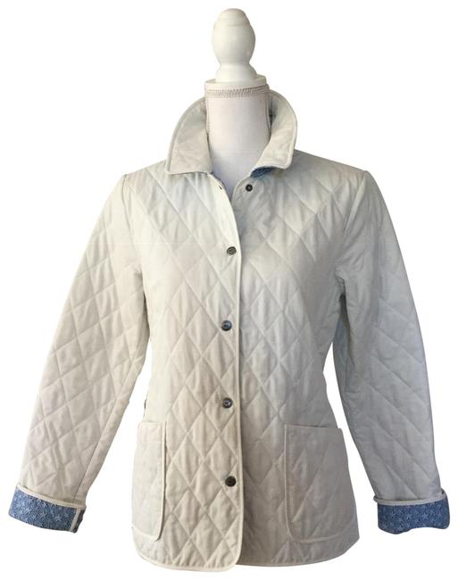 Vineyard Vines Off White Quilted Jacket Size 6 S Tradesy
