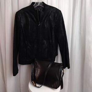 Valerie Stevens BLACK Leather Jacket