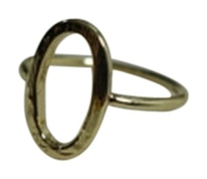 Shiekh Yellow Gold Plated Oval Ring