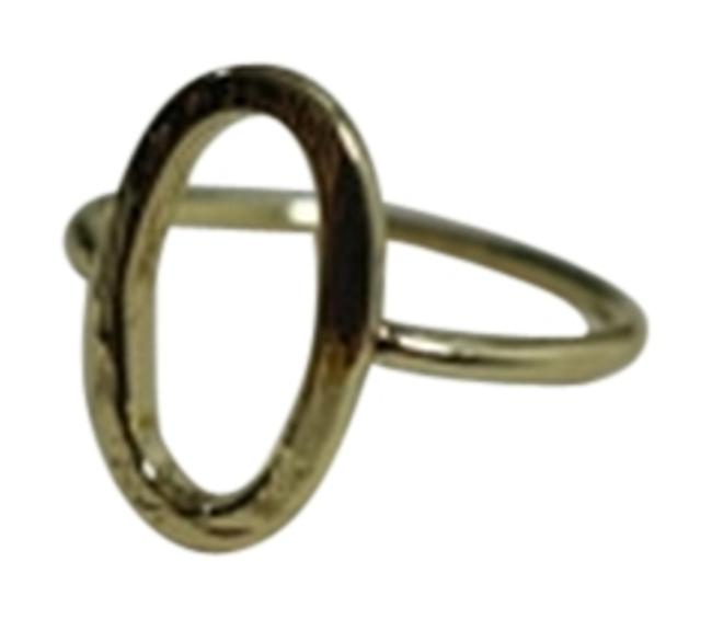 Item - Yellow Gold Plated Oval Ring