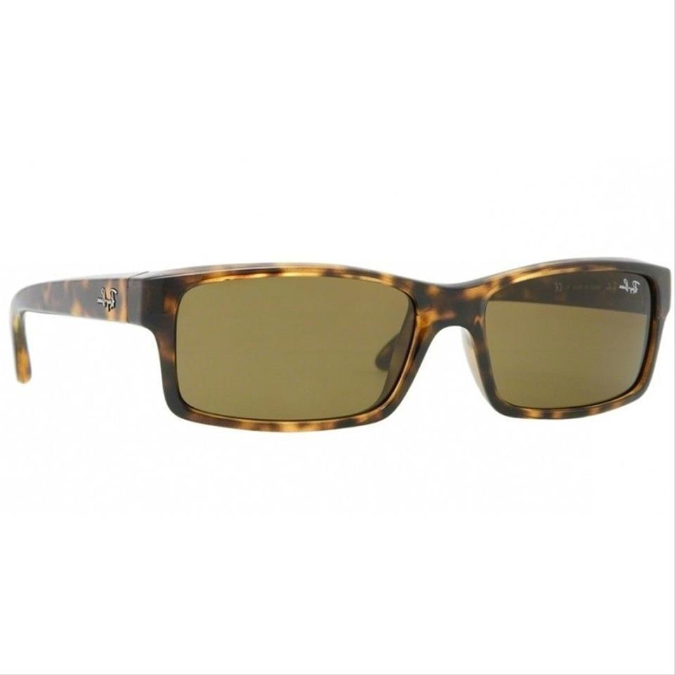 84cc7caa8b Ray-Ban Light Havana Frame Rectangular Style Unisex Rb4151 710 Brown  Anti-reflective Lens Sunglasses