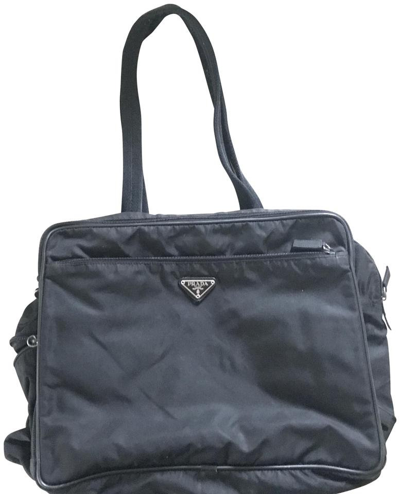 a08a71cc4f3102 ... cheap prada black diaper bag 45ca9 dabda good lyst prada nylon ...