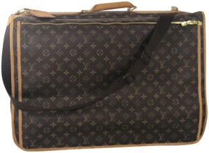 Louis Vuitton Cabine Cabine Monogram Garment Cover Brown Travel Bag