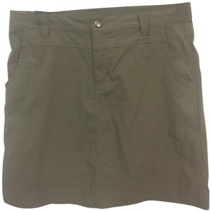 Eddie Bauer First Ascent Khaki Skirt