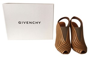 Givenchy Leather 60's Camel Beige Boots