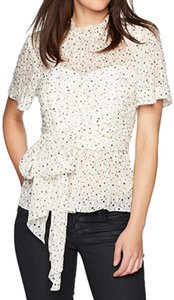 Rebecca Taylor Top white, black