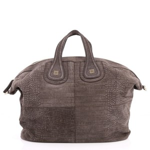 Givenchy Nubuck Satchel in brown